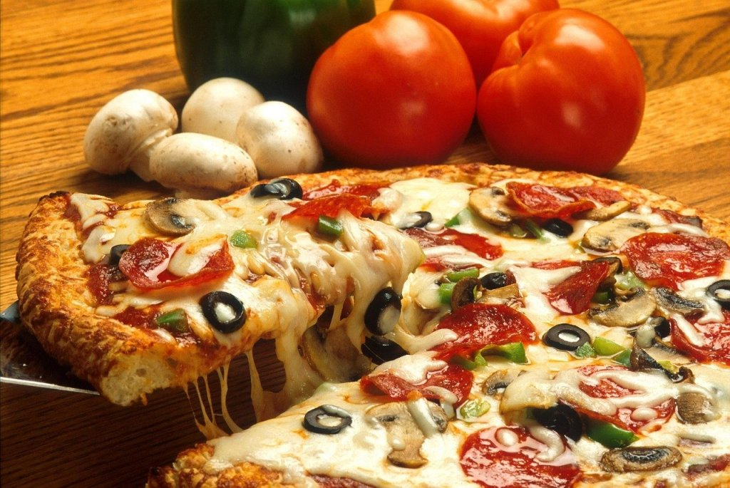 Don't give up with the pizza! The healthy foods you don't expect